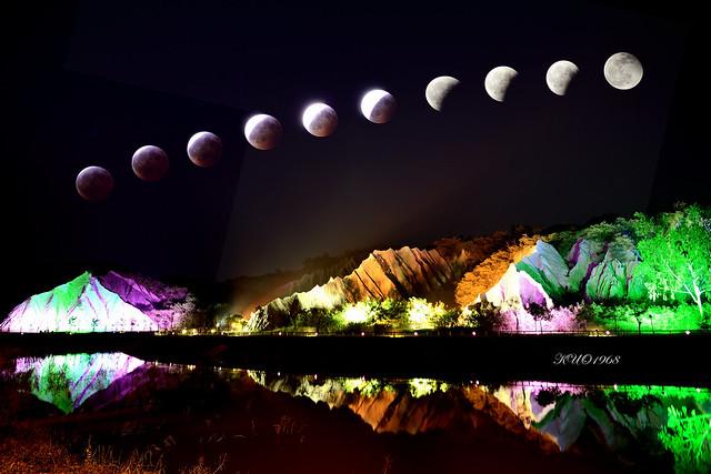 田寮月世界月全蝕