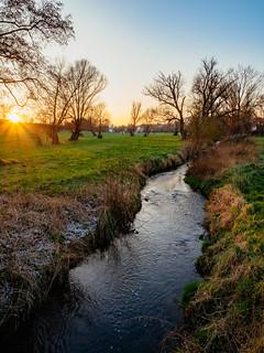 sunset_at_the_creek | by Joerg Esper