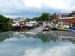 Brentford - June 2016 - Lock, Dock & Reflection