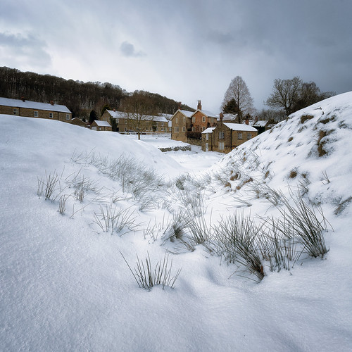 Hutton-le-Hole in the Snow | by aveyardphotography