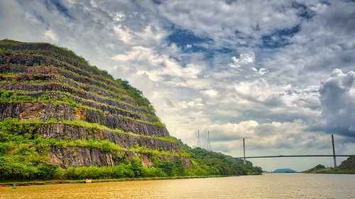green panamacanal panama canal pa panamá latinamerica southamerica bridge de panamacentennial bridgepuente centenariocentenario