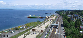 Conceptual rendering of the new terminal and holding lanes | by WSDOT