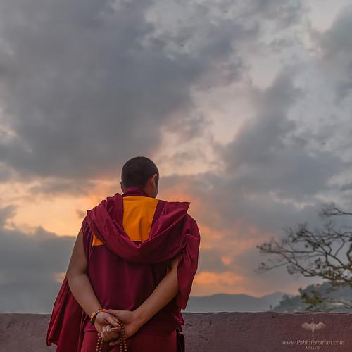 pabloferrariart nepal asia kathmandu historical unesco temple swayambhunath buddhism templo monkey budismo budista nepali nepalian monje cielo montaña paisaje pabloferrariphotography pabloferrariphotographer