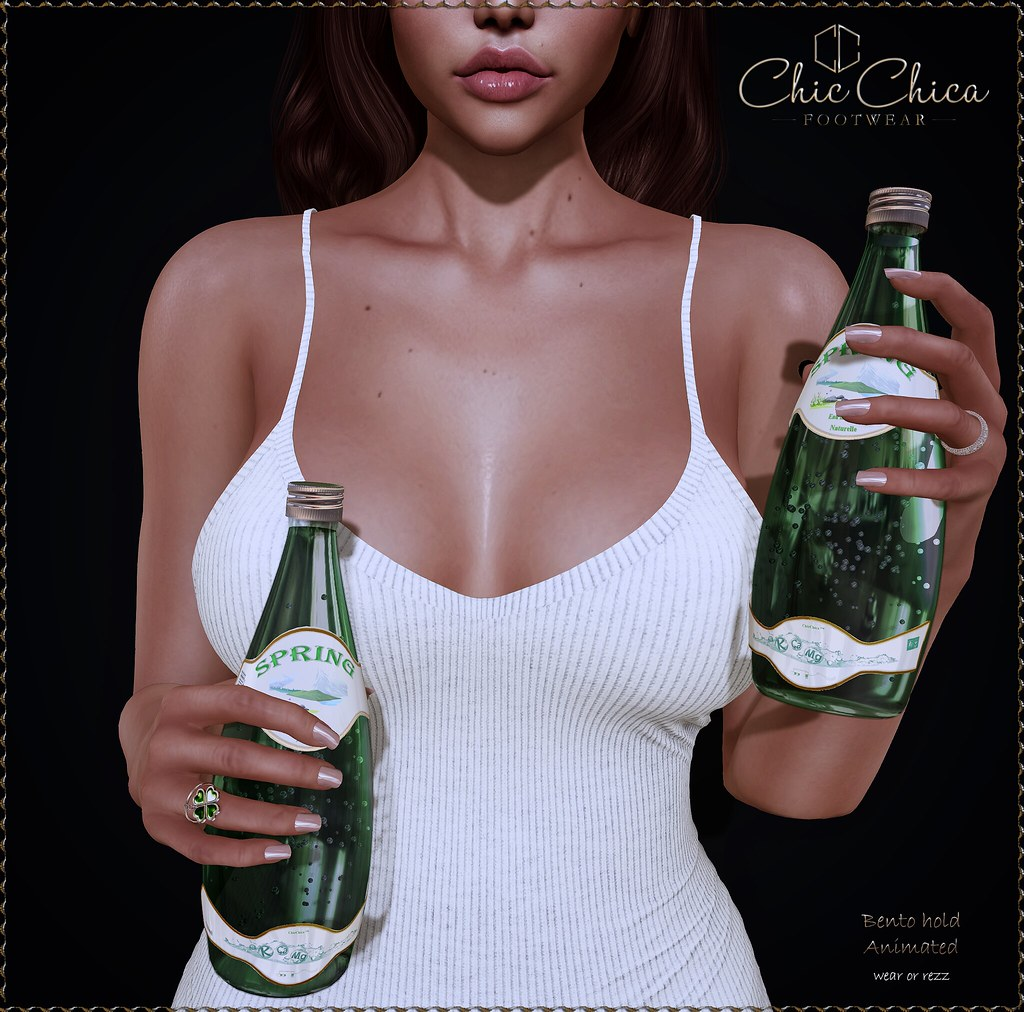Mineral water by ChicChica 70 lindens for The Saturday Sale