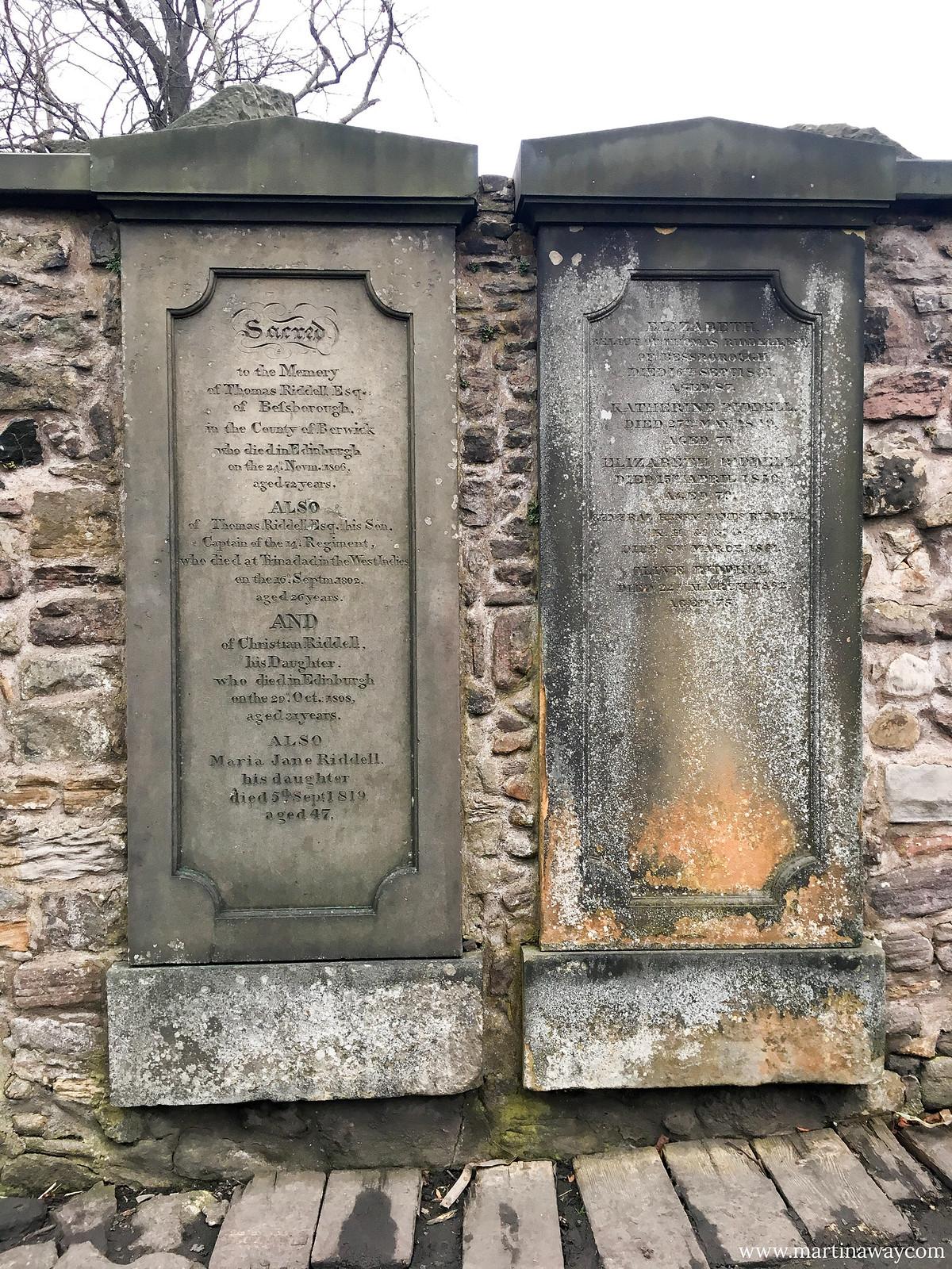Tomba di Thomas Riddle
