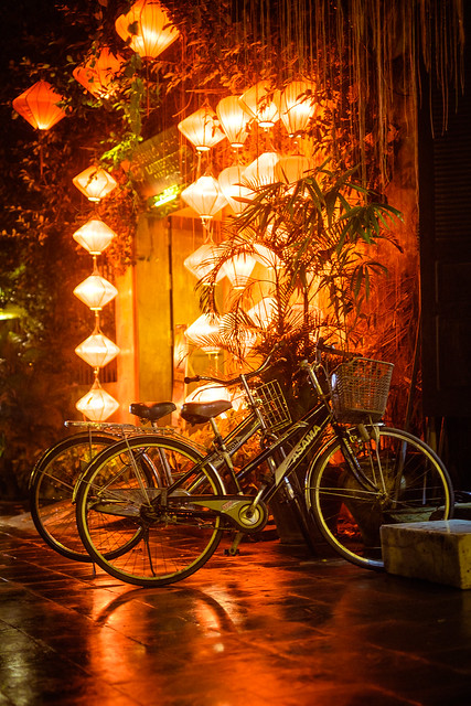 The alleys of Hoi An