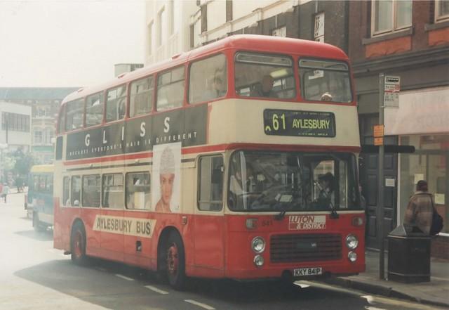841, KKY 841P, Bristol VR, ECW Body H43-34F, 1976 (t.1995) (Ex-Lincs RoadCar, Yrks Trctn)
