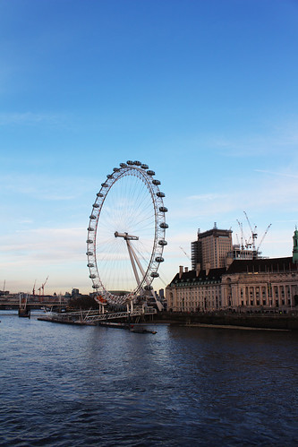 london eye ans the Thames | by blondgarden