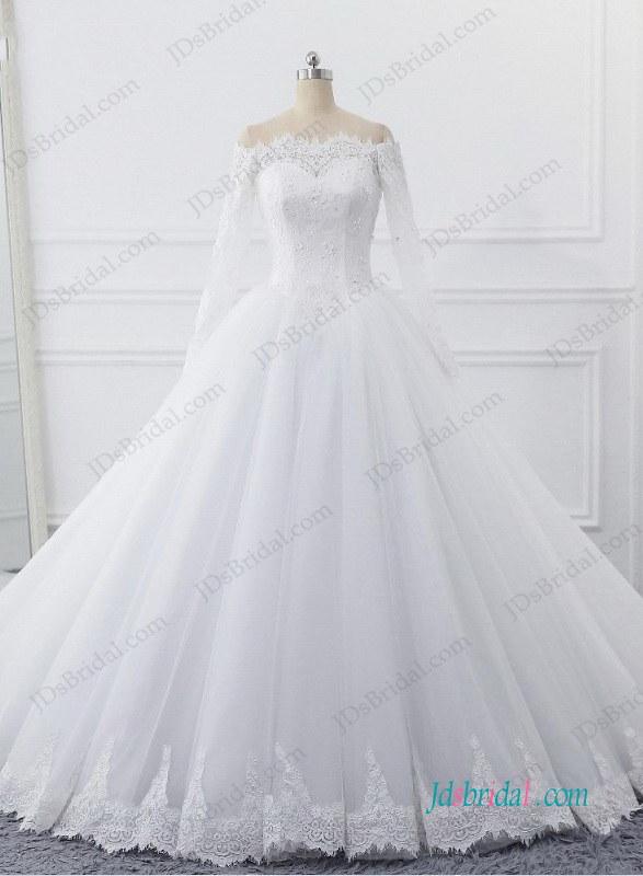 Cinderalla Wedding Dress 2018