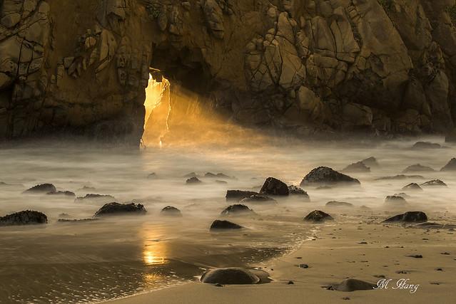 DSC_6201  _ Keyhole Arch, Big Sur