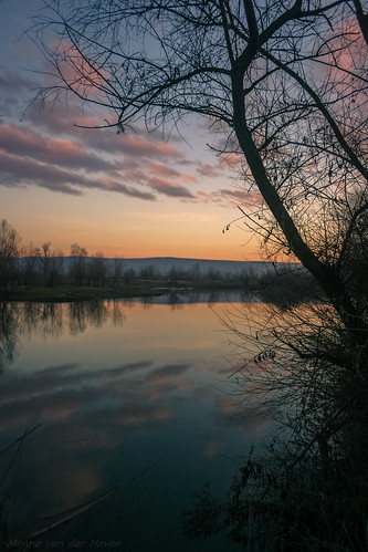 sunset tree silhouette river water reflections clouds sky skyscape cloudscape scene scenery scenics scenic sunrise color colors colorfull romania transylvania landscape waterscape mures maros erdély targumures marosvasárhely