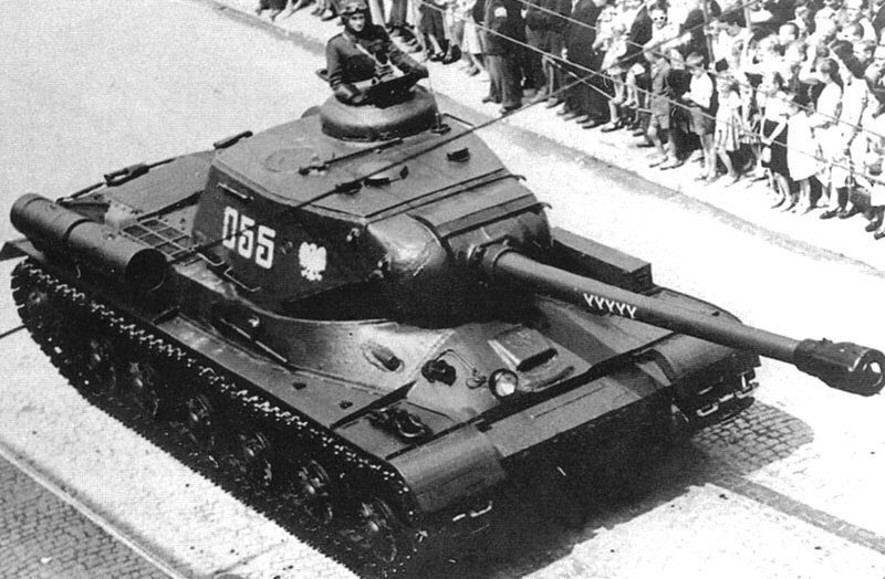 Polish heavy tank is-2