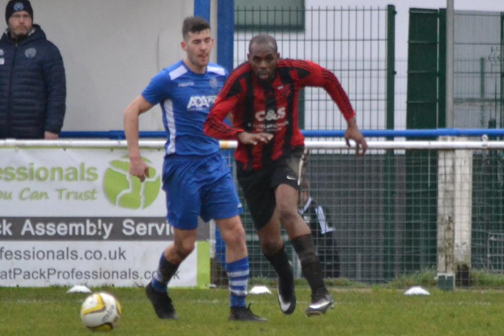 FC Broxbourne Borough 3-4 Enfield Borough FC (27-1-18)