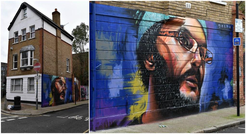 A contemporary Shoreditch street art