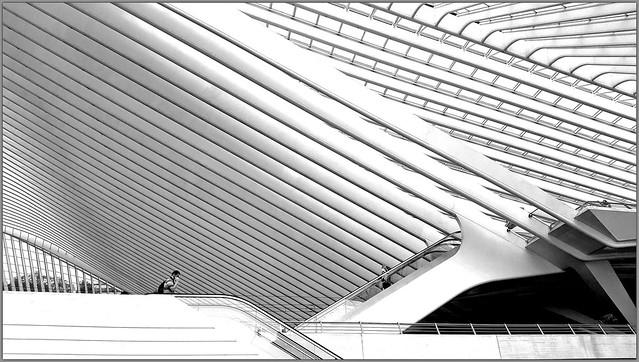 Gare des Guillemins, Liège, Belgium