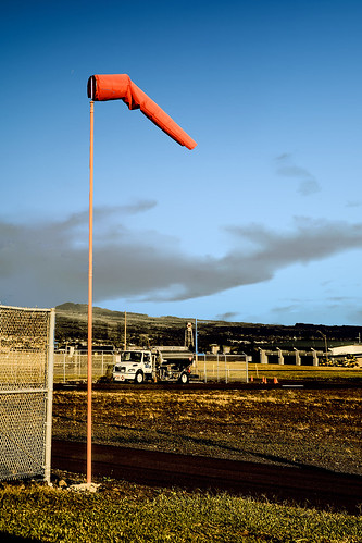 hawaii bigisland hilo airport windsock fueltruch helicopterterminal clouds bluesky flyingconditions wyojones np
