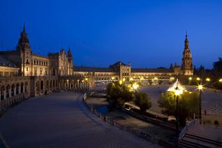 Plaza de España por la Noche | by Sevilla Congress & Convention Bureau