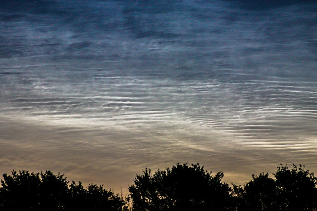 Dawn Noctilucent Clouds 3:49am BST 18/07/15