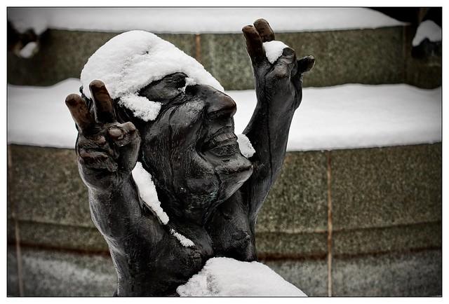 Freude – pleasure – oder auch: Endlich Schnee!
