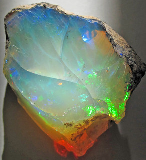 Hydrophane opal (precious opal) dried out (Tertiary; Ethiopia) 9 | by James St. John
