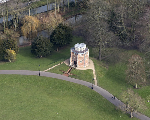 Kings Lynn - The Red Mount Chapel aerial view | by John D Fielding