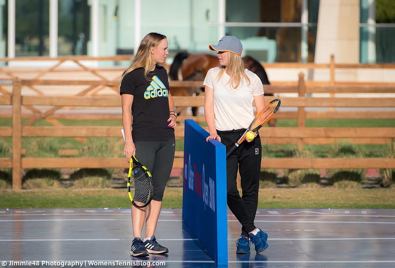 Doha Wta Photos Qualifying Complete Wozniacki