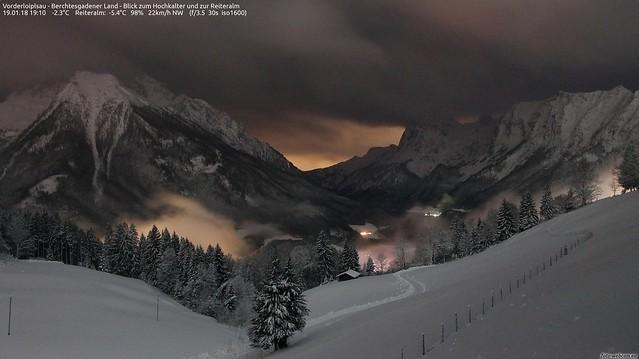 Abendstimmung i. Berchtesgaden
