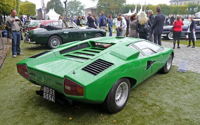 Lamborghini Countach LP400 >>> prototype >>> oldest Countach >>> 1973 >>> chassis no. 1120001