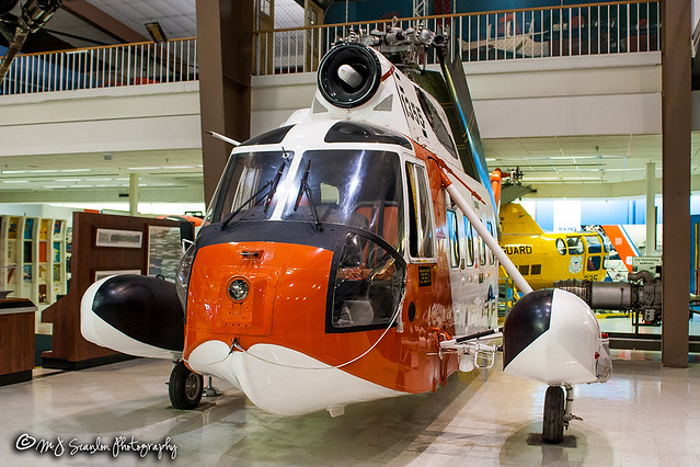 1355 USCG | Sikorsky HH-52A Sea Guard | National Naval Aviation Museum