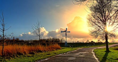 nature sky sunset cross tree outdoors landscape dusk autumn silhouette grass sunlight sun street environment cloudsky christianity sunrisedawn night scenics