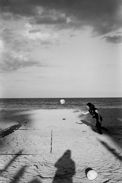 Beach volley (35mm film)