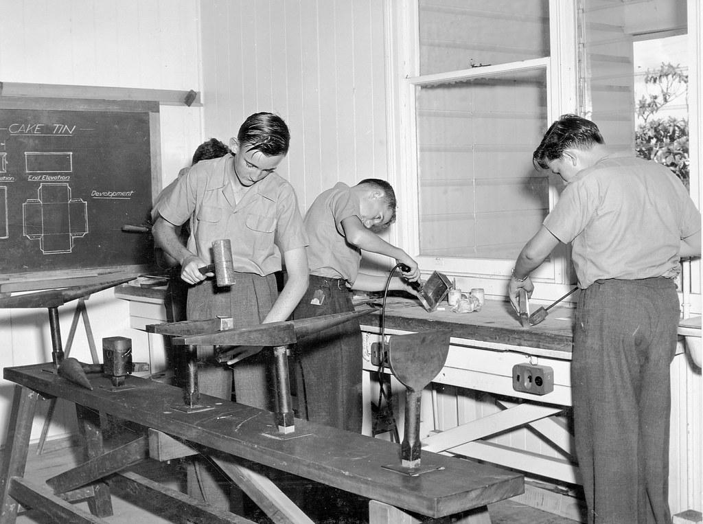 Salisbury State High School, Sheet Metal Work - Brisbane