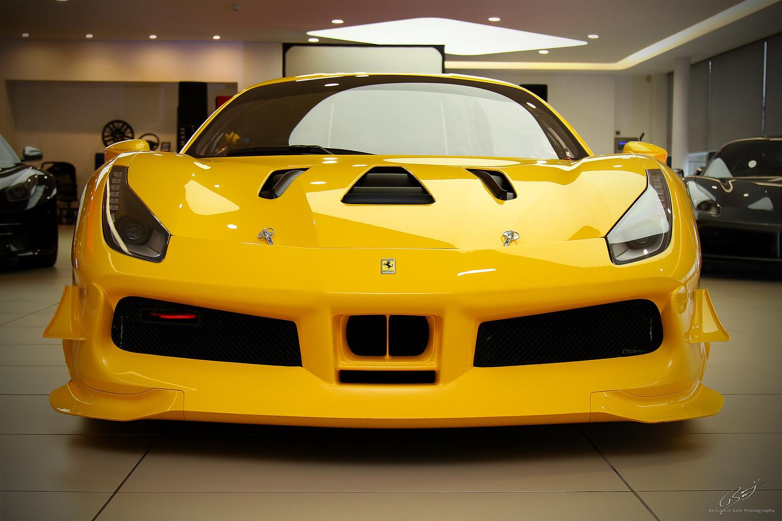 Ferrari 488 Challenge Front