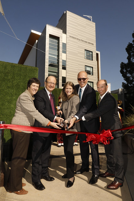USC Norris Healthcare Center Grand Opening 1-11-18