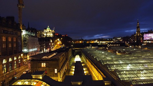 Edinburgh on Burns Night | by byronv2