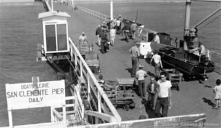 San Clemente Pier, circa 1950s