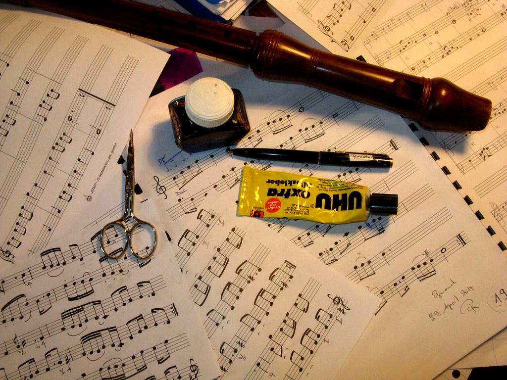 img9028 writing music  noten schreiben  traud  flickr