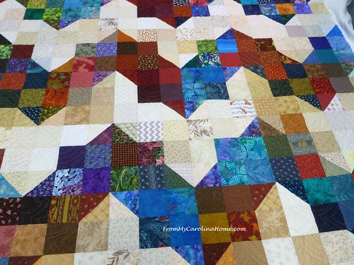 California Thomas Fire Quilts | FromMyCarolinaHome.com | by Carole @ From My Carolina Home