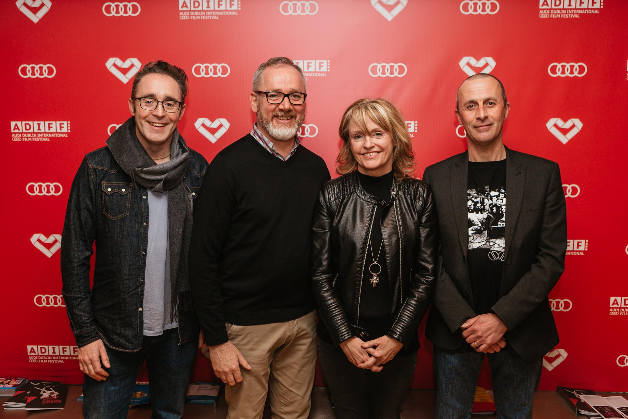 Short Film Award 2018 Jury members Geoff Fitzpatrick and Nick Costello and Discovery Award 2018 Jury members Emer Reynolds and Jason Foran