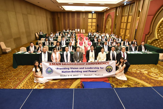 Thailand-2017-10-09-Lawmakers, Government Officials Attend UPF Conference in Bangkok
