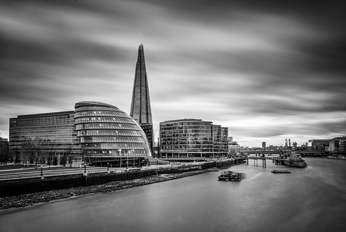 City Hall and the Shard | by judepics