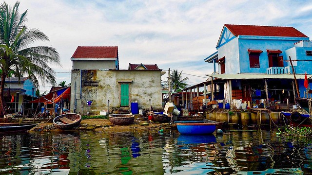 Fishing village..Hoi an Vietnam.