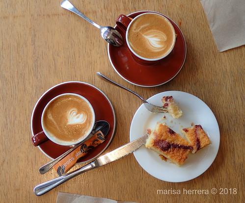 El mejor café con leche del mundo.