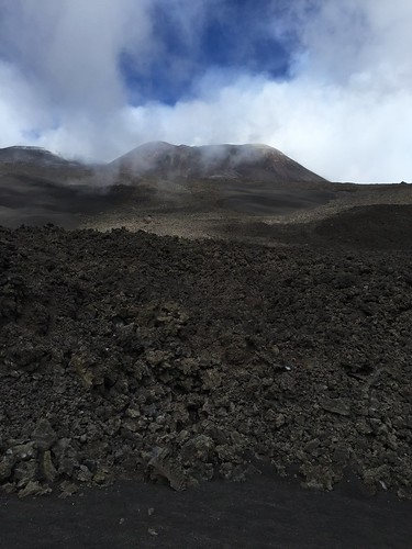 Etna - path to summit