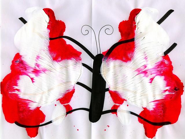 Rorschach Butterfly