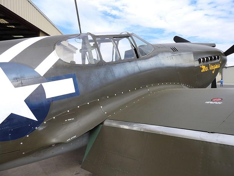 North American P-51A-10-NA Mustang 4