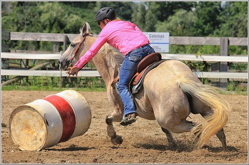 canon eos 70d 70200mm ef70200f4l psp2018 paintshoppro2018 paris ontario canada fair barrelracing action sport horse horses