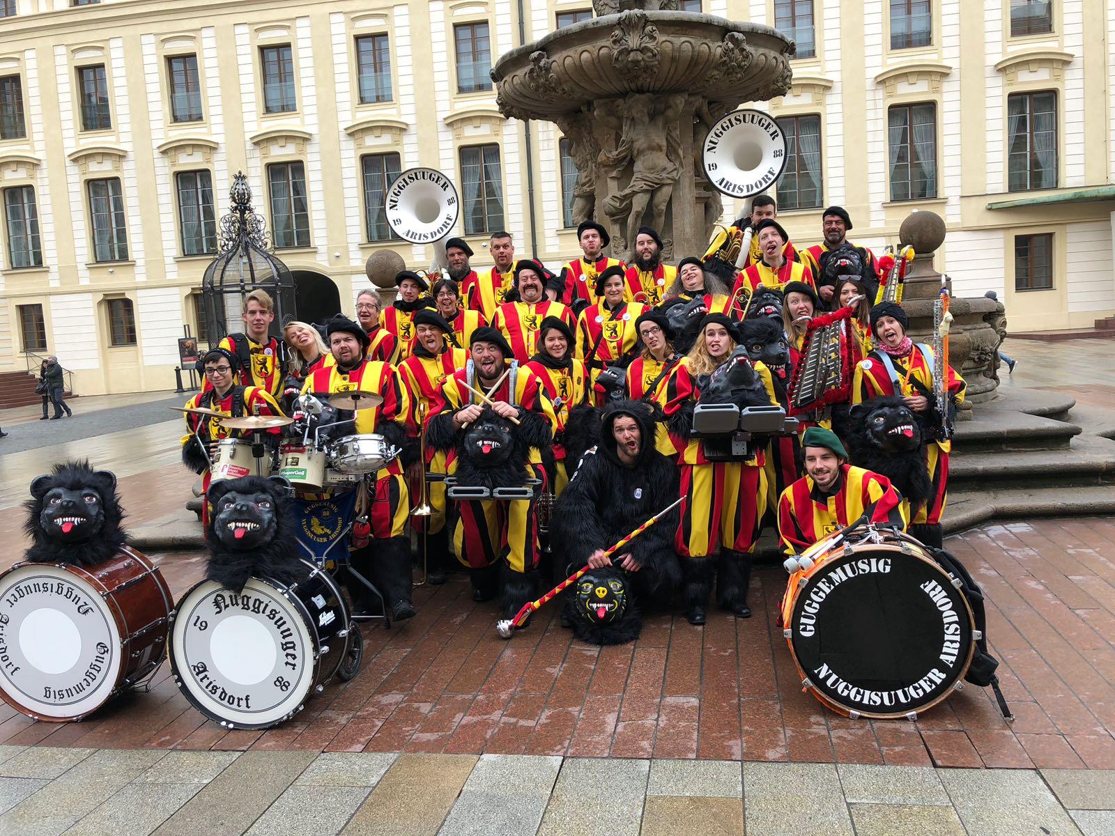 Euro-Carneval 2018 Prag