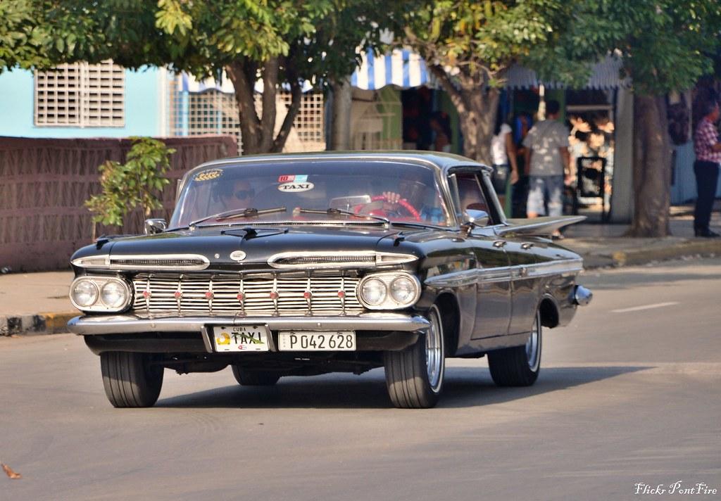 1959 Chevrolet Impala Sport Sedan Cuba