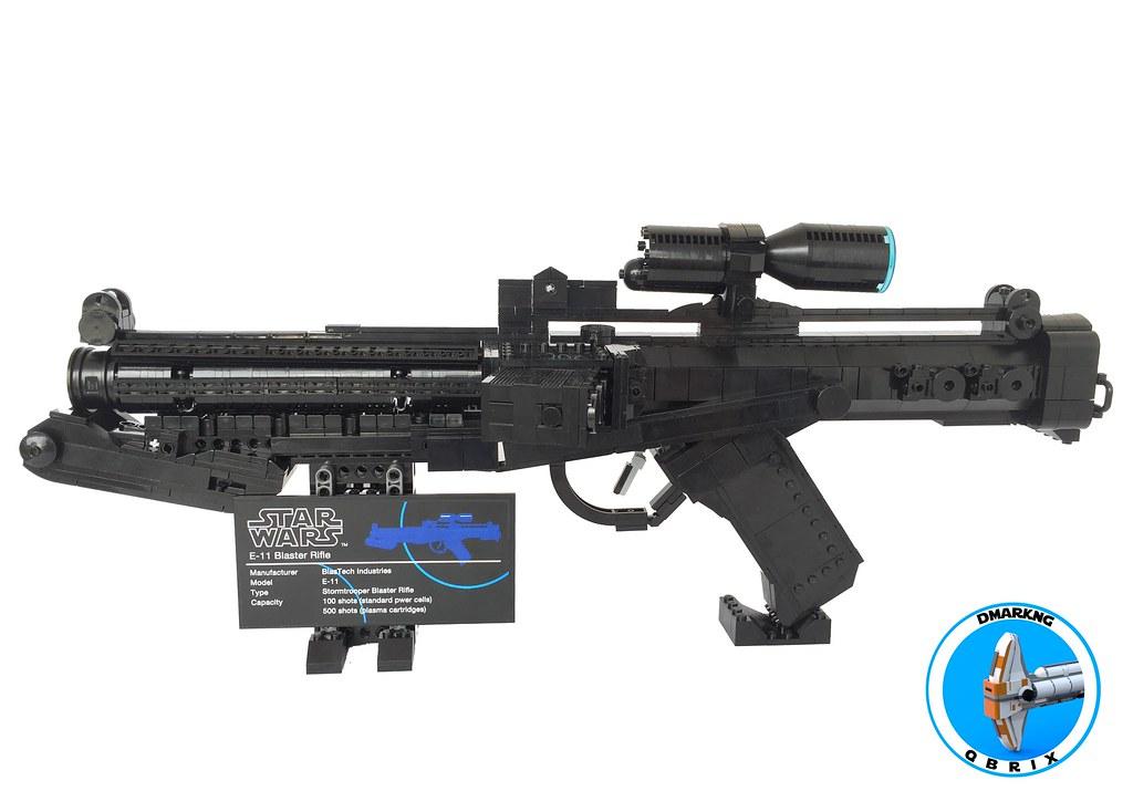 Standard Stormtrooper E-11 Blaster Rifle
